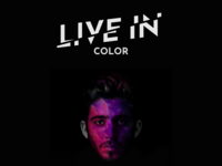 Live in color poster concept