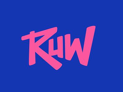 Ruw agency logo