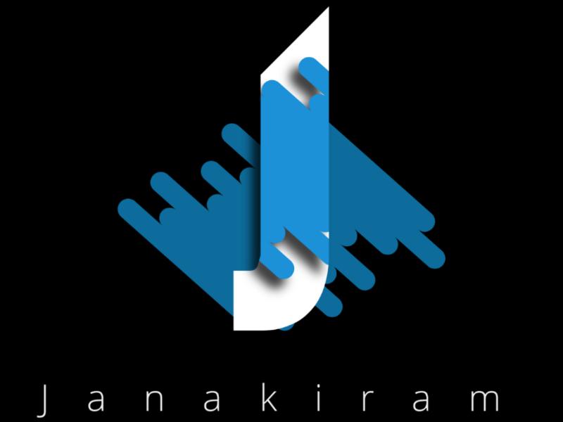 J latter j illustrator logo name