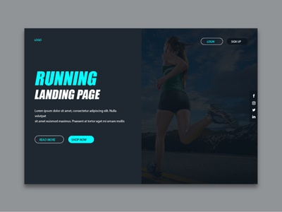 Running0 branding vector web ux illustration graphic poster colorful layout background