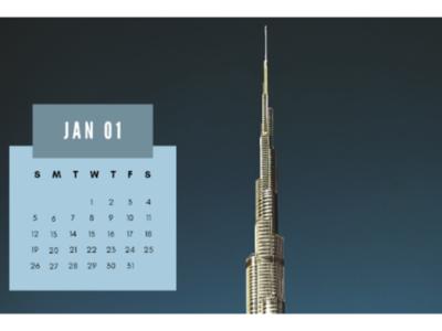 Calendar flyers logo brand branding days months illustrations adobe design banner poster year date calendar