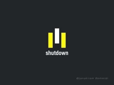 Shutdown Logo
