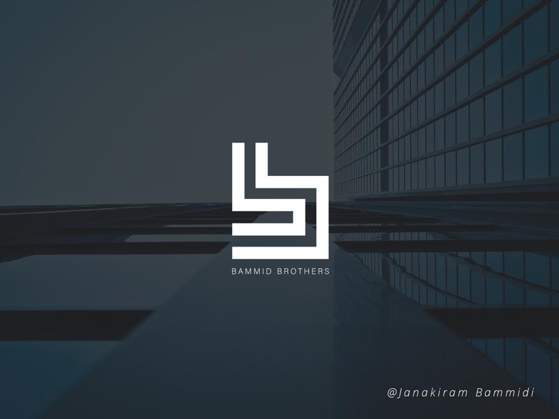 BB logo poster design color colorful vector typography illustration background branding logo