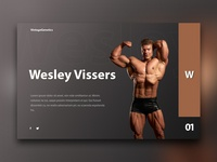 Web Design for Wesley Vissers Mr.O Competitor.