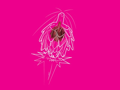 Supersonic  artichoke fun sonic artichoke artwork drawing illustration