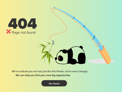 Error 404 Page UI Design Day# 013 404page 404 error page error 404 figmadesign figma ux web ui web design uiux uidesign ui design