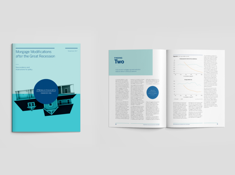 Report Design System style guide print report art direction design