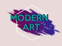 Modern art background