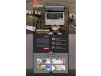 My first website design