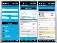 IDOS - Czech transport search engine