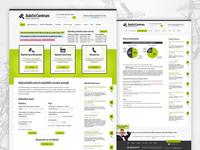 Aukční Centrum - website design