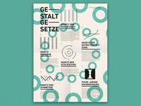 Laws of Gestalt Poster
