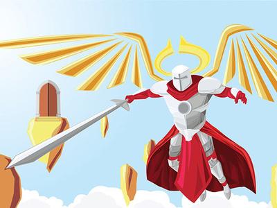 Pearly Gates illustration