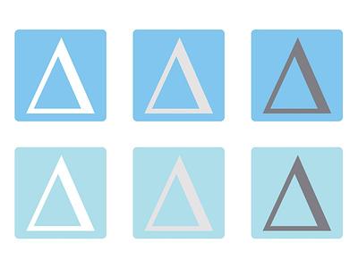 Logo Colour Schemes ui web icon vector logo branding