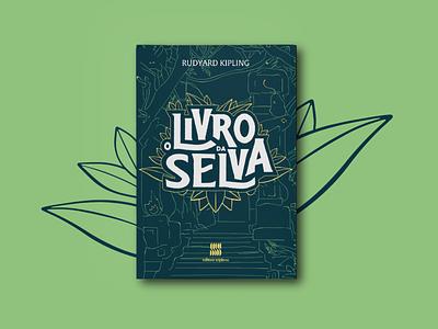 O Livro da Selva mowgli mogli logo id visual booklet design booking book cover book