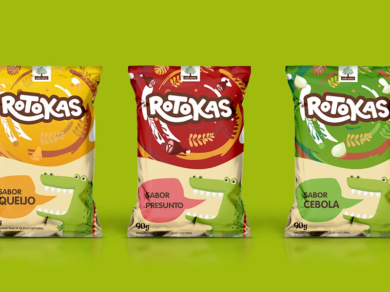 Rotokas brand identity food branding logo design logo design brand
