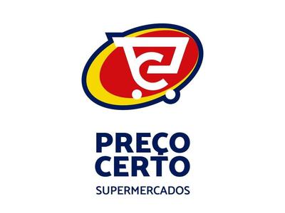 Logo Preco Certo supermercado groceries branding brand identity logofolio logo design design graphicdesign logo logotype brand