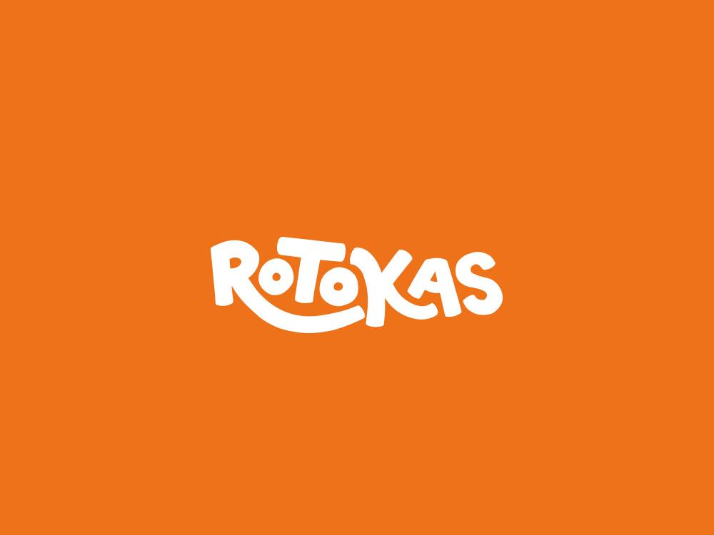 Rotokas food logo design branding brand identity logofolio design graphicdesign logotype logo brand