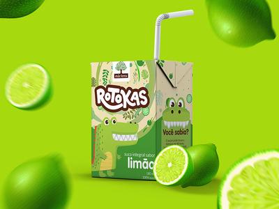 Rotokas kids illustration food pack kids packing branding brand identity graphicdesign logo logotype design brand