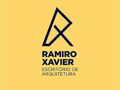 Ramiro Xavier vector arquitetura branding arquitecture logofolio logo design logotype graphicdesign logo design brand