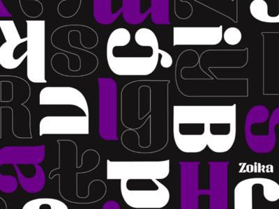 FREE | Zoika font