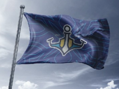 Abrigo do marinheiro marinheiro mar ocean oceano flag marine logotype logo branding brand