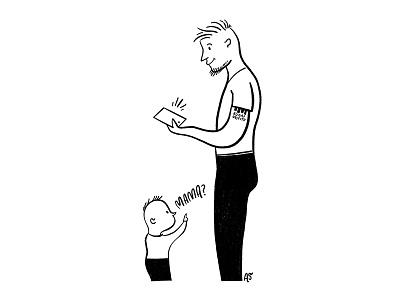 Phone mama comic artist illustration comic autobiographical
