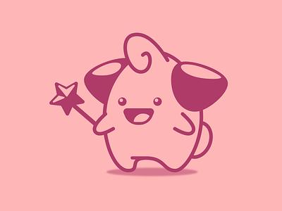Cleffa stylized cute sketch app sketchapp pokemon character cartoon art