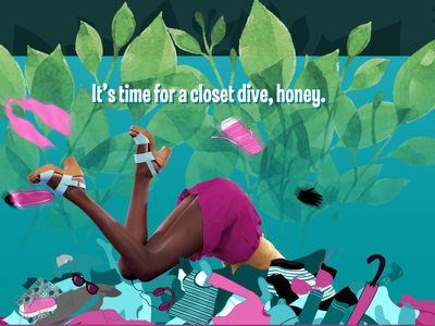 Out of the Closet - Closet Dive web design