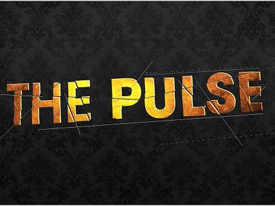 The PULSE on Tour illustration typography logo design