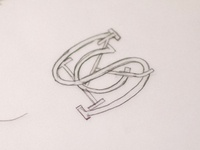 Sioux City Kid monogram sketch