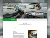 Europcar Go Further - Landing Page