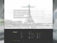 Europcar Go Further Landing Page