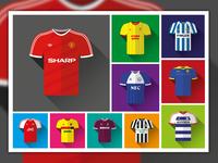 Football Shirts 1986