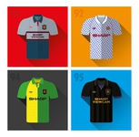 Manchester United 1990's Away Shirts