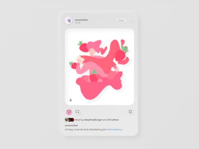 Instagram (neumorphism)