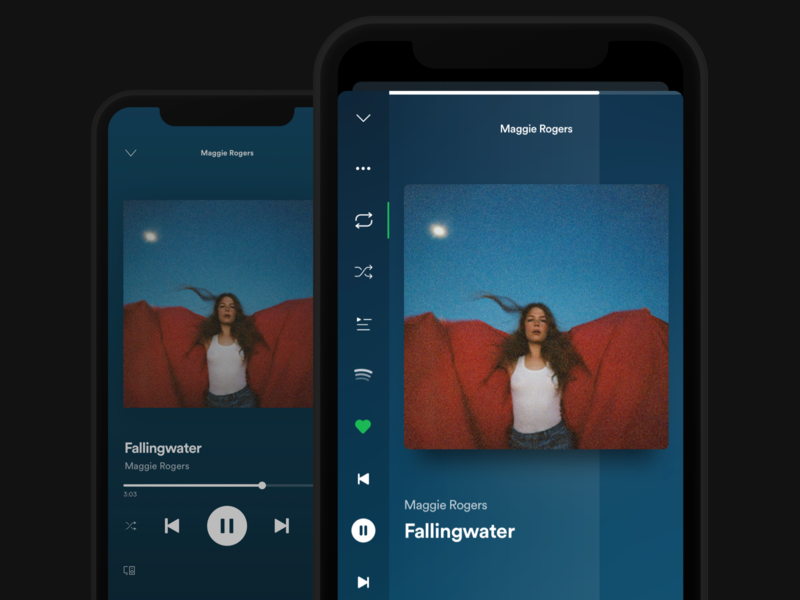 Streaming App Study before and after now playing podcast spotify apple music streaming service music casestudy case study streaming app streaming