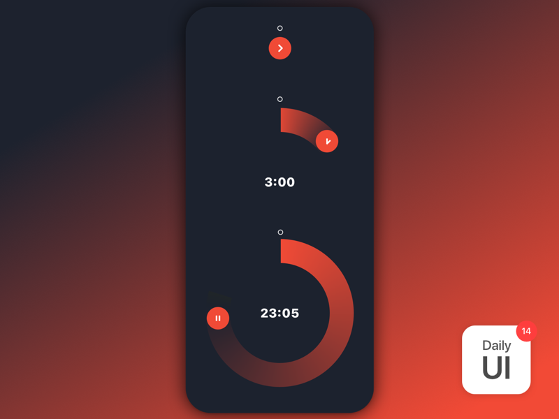 014 Countdown Timer timer challenge daily ui daily ui challenge