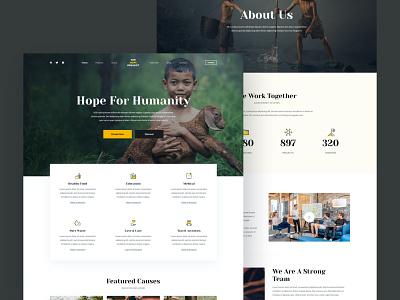 Blocksy - Charity starter site gutenberg charity free theme wordpress