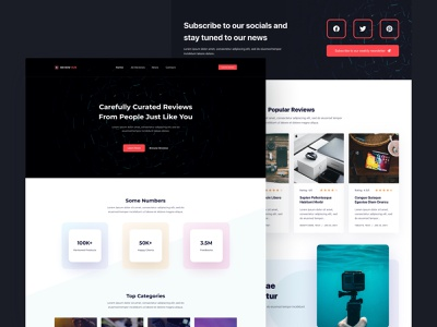 Blocksy - Product Reviews starter site free wordpress gutenberg affiliate