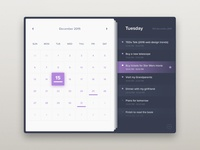Calendar - Day 38 #dailyui
