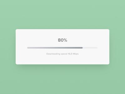 Progress Bar - Day 86 #dailyui gradient minimal clean interface download loading daily ux ui dailyui bar progress