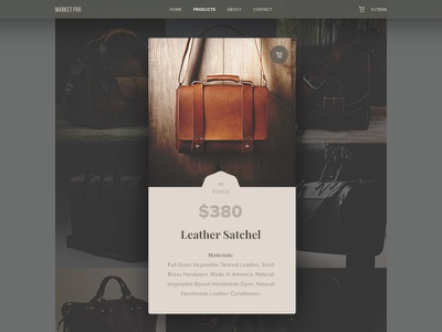 Currently In-Stock - Day 96 #dailyui popup ecommerce card ux ui dailyui shop stock currently in-stock style men