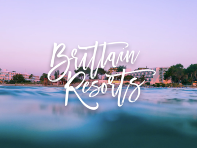 Typographic style | brittain Resorts project