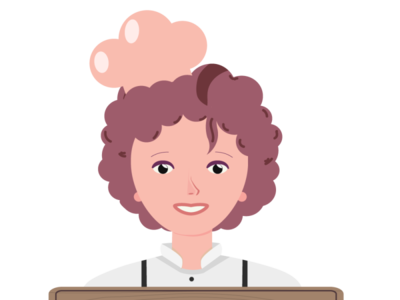 lady Chef Character