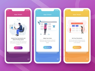 Onboarding - Walkthrough - Intro Screen Layout walkthrough screen walkthrough onboarding illustration onboarding flow onboarding ui onboarding screen illustration app screen app design ux design