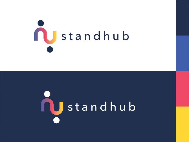 Standhub Logo icon logodesigner logodesign logo design branding