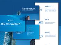 Presentation Design for Briq