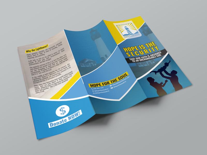 Tri Fold Brochure Mock Up 1 meditation brouchure design brochure design bi-fold brochure tri-fold