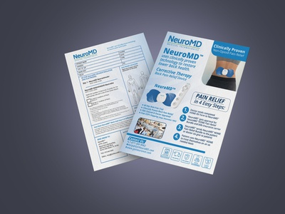 Healthcare Product Brochure Design